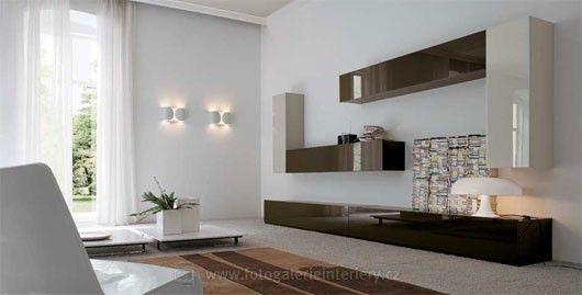 Minimalistické obývací pokoje 7