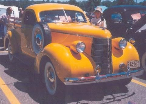 1938 studebaker Coupe Express a