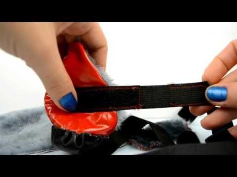 Как сшить ботиночки для собаки - YouTube