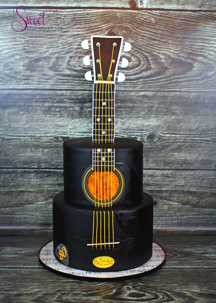 Guitar Cake   A Sweet Passion