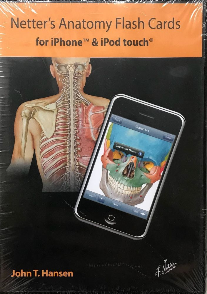 Netters Anatomy Flash Cards 4th Ed Cd Iphone Ipod Touch Apple Mac