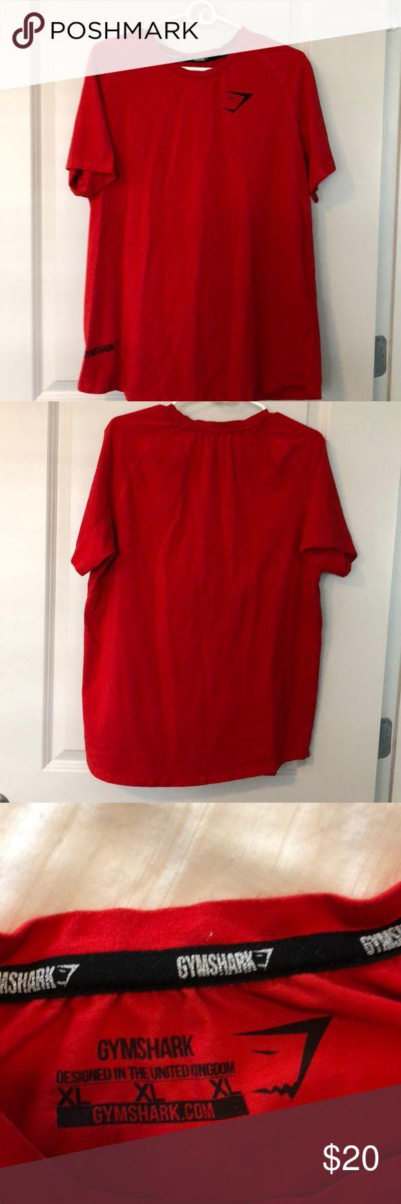 Gymshark red T-shirt Gymshark red T-shirt Gymshark Shirts Tees - Short Sleeve
