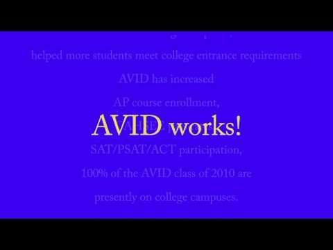 AVID video to show the first week of school. http://m.youtube.com/watch?v=U05YTttEDr4