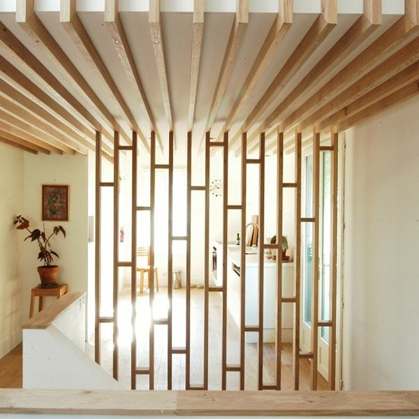 1000 ideas about wood partition on pinterest room - Cheap interior detailing near me ...