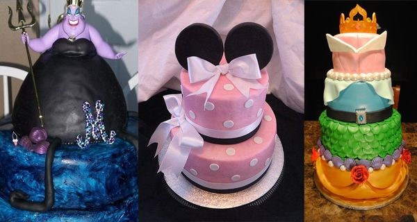 14 Mágicos pasteles inspirados en Disney. Están tan bonitos que me daría lástima…
