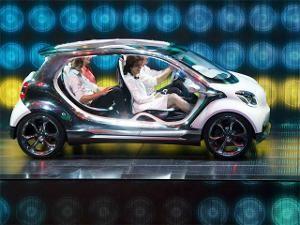 Mercedes Smart four joy - Mercedes Smart four joy at Frankfurt Auto Show | The Economic Times