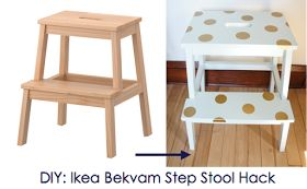 Ikea Hack Ikea Bekvam Step Stool DIY  sc 1 st  Pinterest & 19 best ikea bekvam stool hacks images on Pinterest | Ikea bekvam ... islam-shia.org
