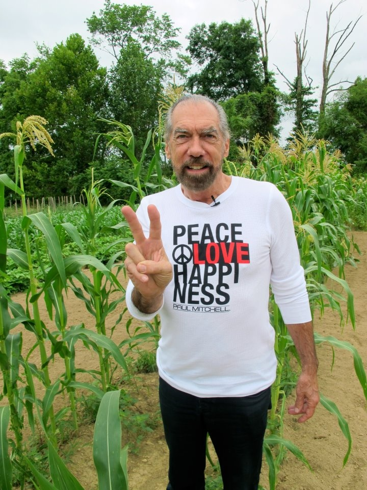 Our founder John Paul Dejoria's family foundation, Peace Love and Happiness