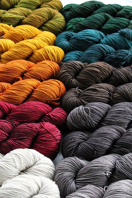 YARN. Any colors, any size. I prefer at least 50% natural fiber, but any and all yarn is awesome and exciting.