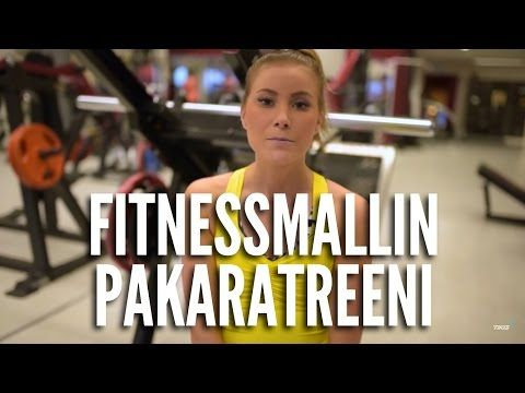 Fitnessmallin vatsalihastreeni - Sara Nikulainen - YouTube