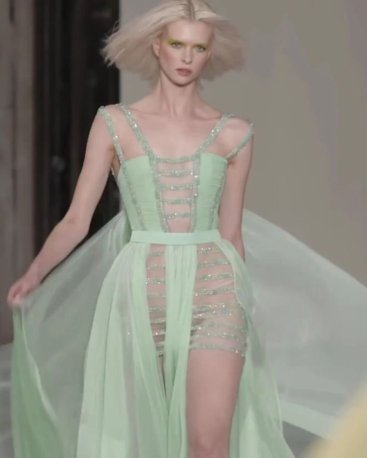 Georges Chakra Look 35. Spring Summer 2019 Couture Collection