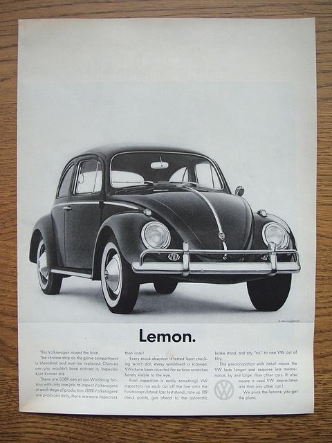 Volkswagen....MAD MEN!