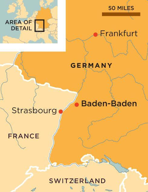 Baden Baden Germany Map Rick Steves' Europe: Baden Baden, Germany in 2019 | Smiths in