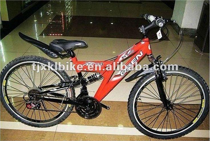 26 sports mountain bike 1.Hi-ten steel Frame2.Aluminum rim3.F R V Brake4.Saiguan F/R DERAILLEUR  Please follow us @ http://www.pinterest.com/wocycling/