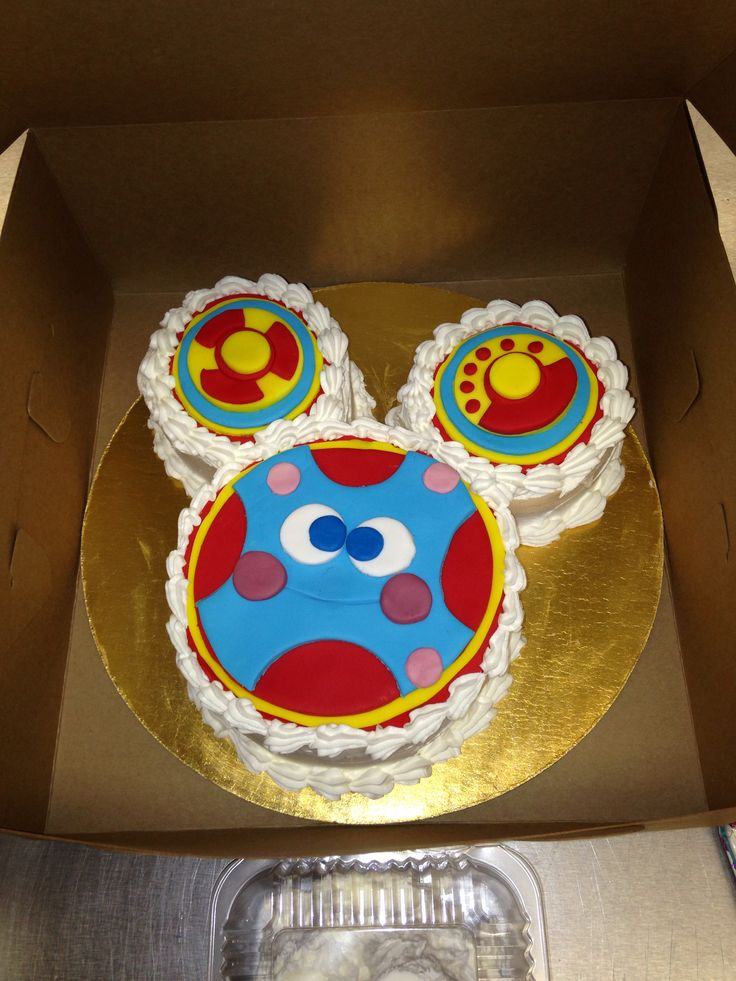 Toodles smash cake Mickey Mouse clubhouse