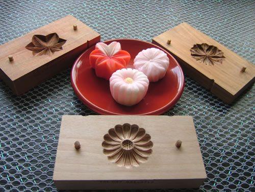 Kashiki-gata - (the wood mould used in making Japanese sweets) Traditional Industrial Artisan Yoshihiro Ichihara- (Japanese Crafts)