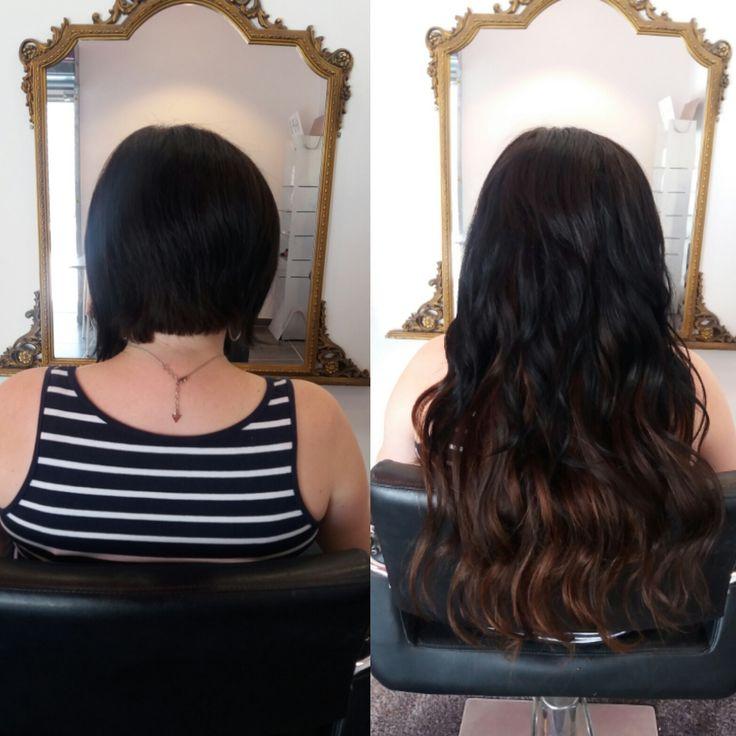 Connu Les 25 meilleures idées de la catégorie Extension cheveux avant  PX76