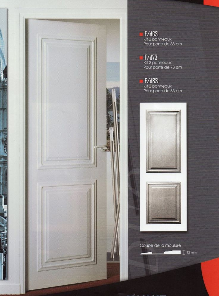 habillage de portes,decoration de porte,porte moderne