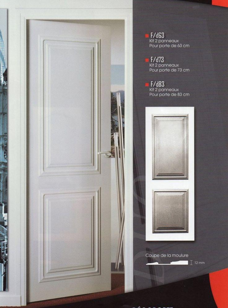 Habillage de portes decoration de porte porte moderne - Habillage porte interieur maison ...