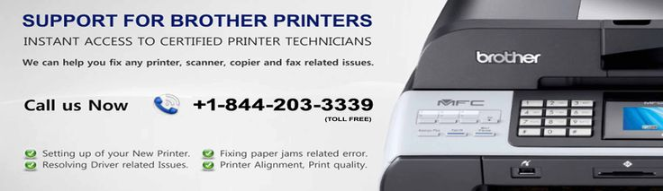 Call Brother Printer toll-free number 1-844-203-3339 to get advanced tech support anytime you are stuck with Brother Printer problems in your computer. Their tech support team will gladly take your calls and deal with your computer issues at the earliest. They promise to provide you support for Brother Printer anytime you want. Brother Printer contact number is provided below: Brother Printer Help Desk: 1-844-203-3339