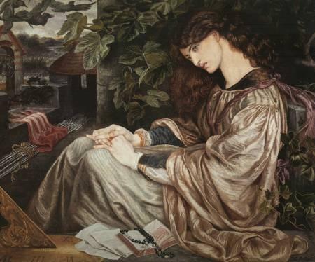 Rossetti Model: Jane Burden Morris