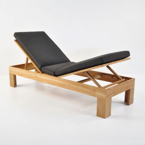 Palm Teak Sunbed Diy Furniture In 2019 Reposeras De