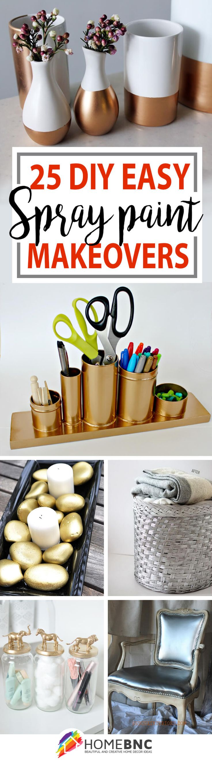 DIY Spray Paint Makeover Ideas