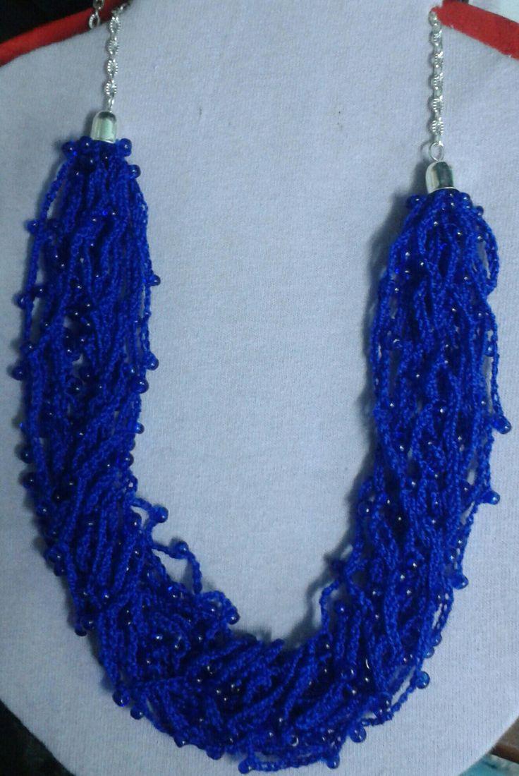 Collar de crochet by creaciones Alma