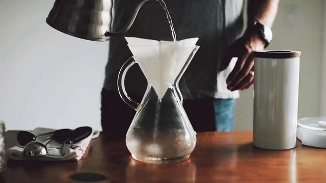 This is basically how I make coffee when I'm only making enough for me, with the kind of pour-over filter that you just set on top of a mug. It makes consistently good coffee (even though I don't have a fancy burr grinder) and it's fun because I get to weigh stuff and use timers!    From Sprouted Kitchen - http://www.sproutedkitchen.com/home/2012/9/5/coffee-a-chemex-method.html