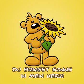 Du bringst Sonne in mein Herz!