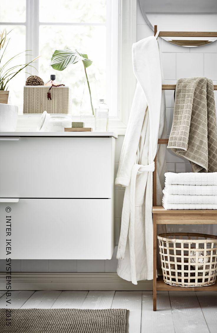 Meuble Salle De Bain Ikea Hemnes : … à propos de Salle de bain sur Pinterest