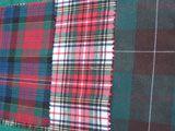 rocking horse kit supplies tartan cloth