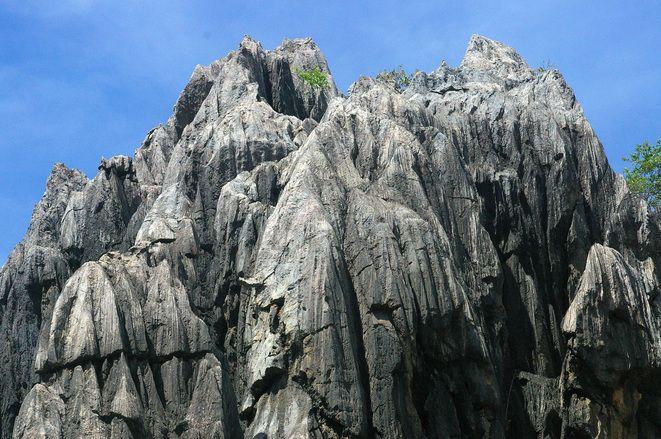 Craggy rocks. Chillagoe, Queensland Australia