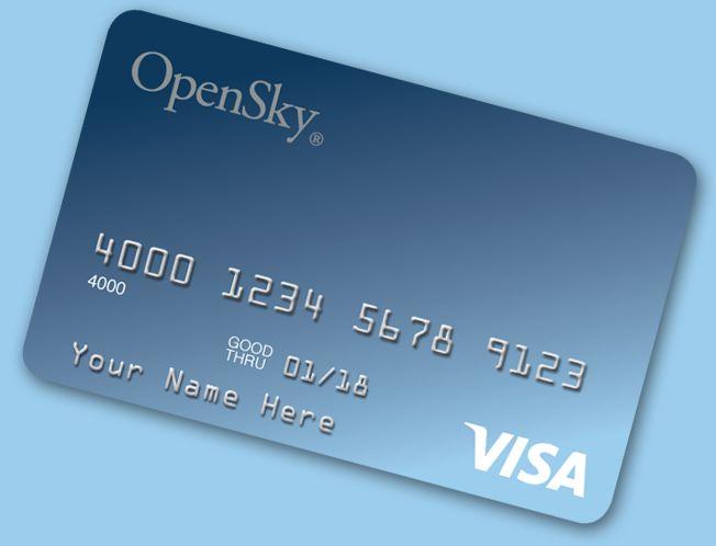 Open Sky ® Secured Visa® Credit Card – Rebuild Credit History Now