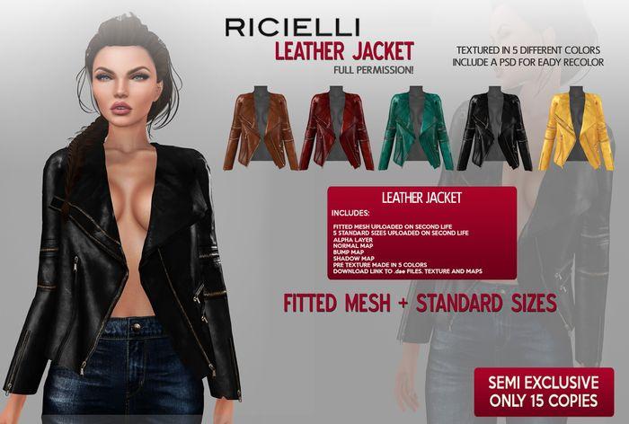 Ricielli - Leather Jacket FULL PERMISSION