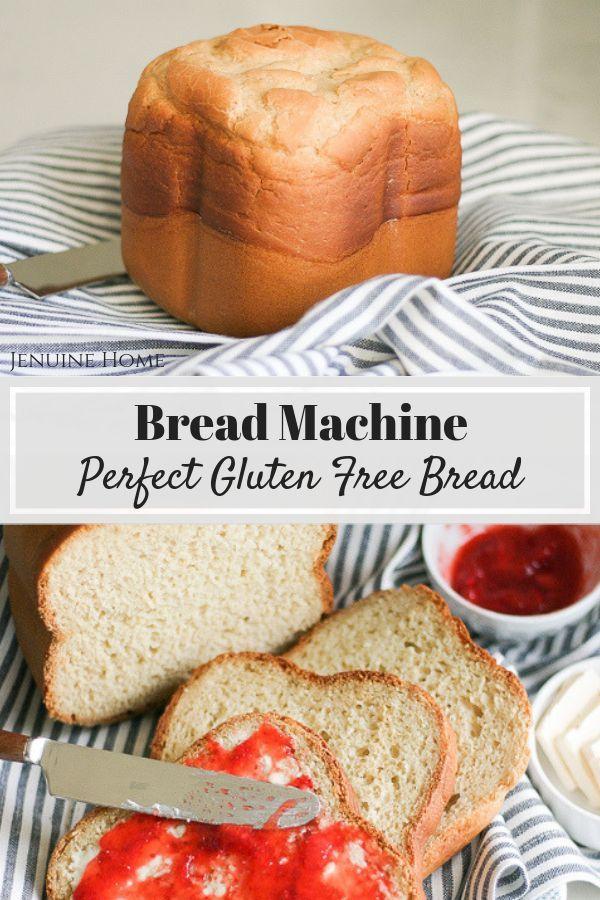 Perfect Bread Machine Gluten Free Bread Jenuine Home Instant Pot Recipes Design Diy Recipe Gluten Free Bread Machine Gluten Free Bread Machine Recipe Gluten Free Bread Maker