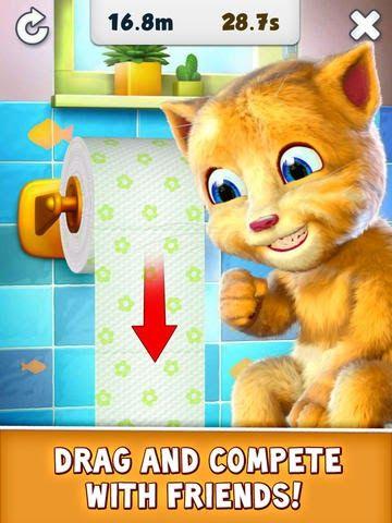 Free Download Talking Ginger Game Apps For Laptop Pc Desktop Windows 7 8 10 Mac Os X