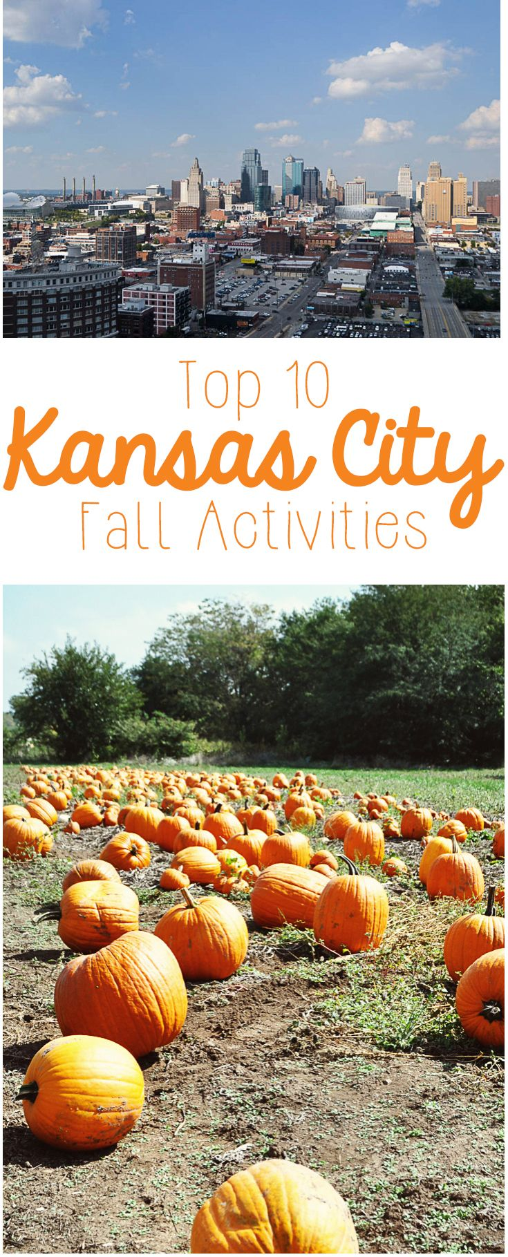Looking for something awesome to do this fall in Kansas City? Here's the full list of the top 10 best things to do in Kansas City during the fall if you have a family or children! These are all family friendly and oh-so-fun, so start tackling your Fall Bucket List now!