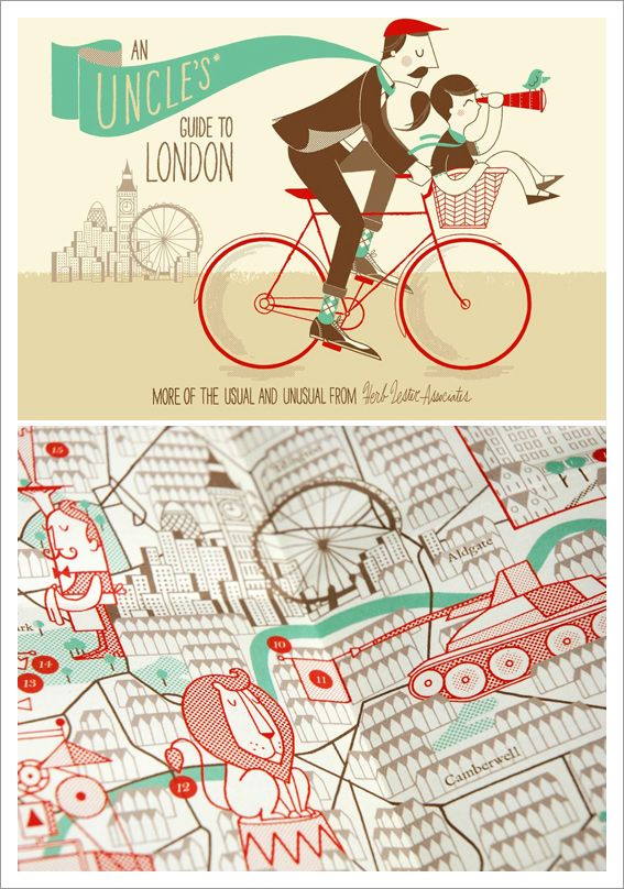 Herb Lester Associates – Illustrated City Maps & Guides.