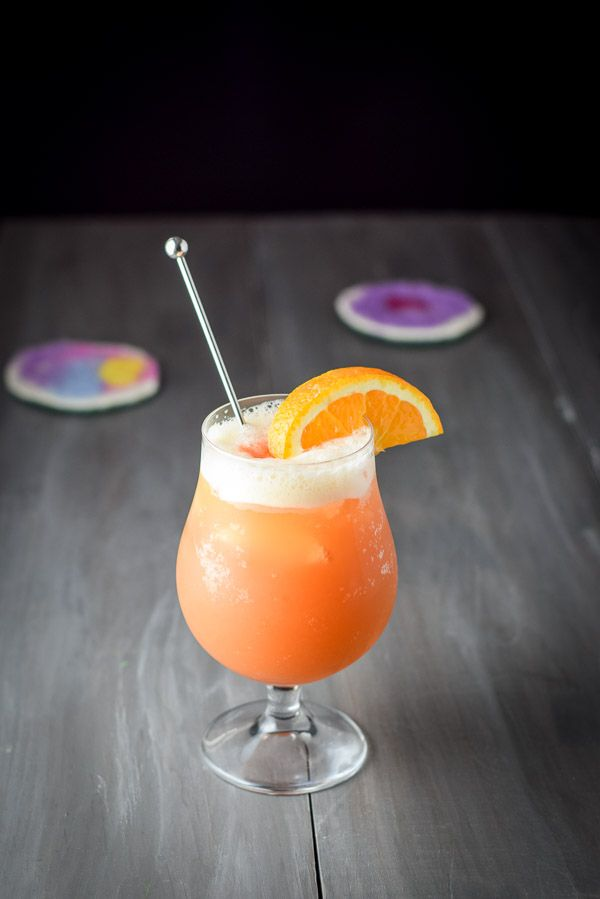 Fruity, rummy, and oh-so-yummy, the rum swizzle is Bermuda's unofficial cocktail. Taste the summer flavor of my recipe and you'll feel why. http://ddel.co/rumswzzle