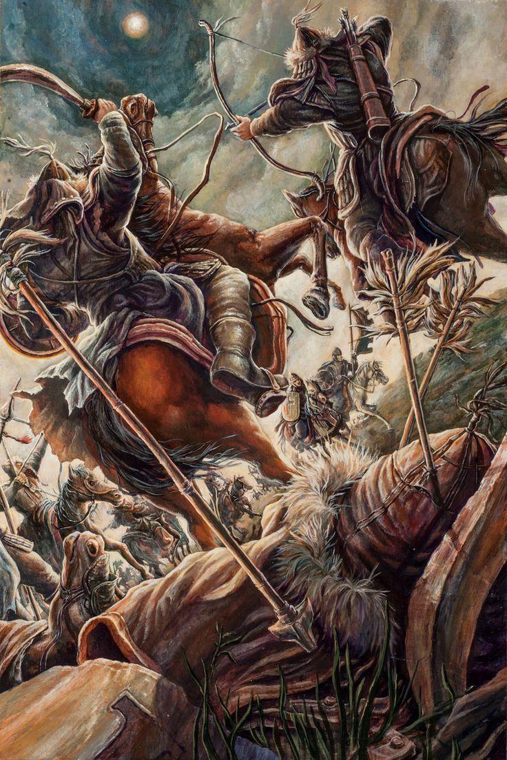 Genghis Khan, Shouts