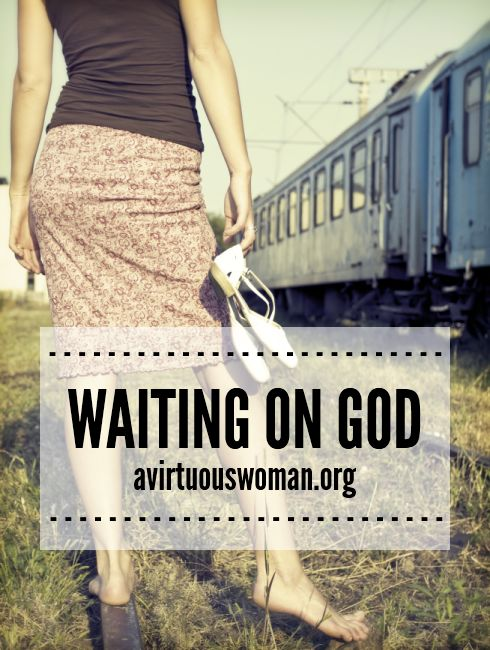 "christian dating waiting on god In christianese, we called that ""waiting on the lord"" from pulpits, blogs, magazines, and books, christian teachers told singles to be passive."