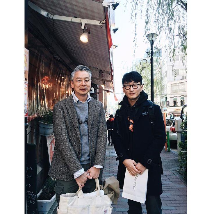 길을 헤매다 만난 #takahirokinoshita 알고보니 바로 한 블럭 앞이 #magazineworld 말은 안통했지만 뽀빠이에 대한 내 애정이 전해졌길..