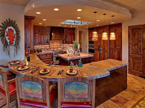 Stylish Western Home Decorating: Western Kitchen Design: Become Inspired