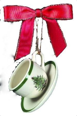 Spode Christmas Tree Ornament Cup Saucer Spode,http://www.amazon.