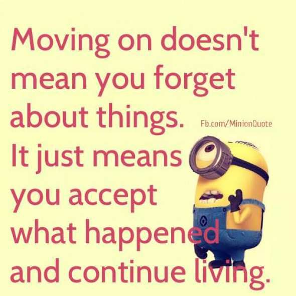 Moving On Doesn T Mean You Forget Spreuken Citaten