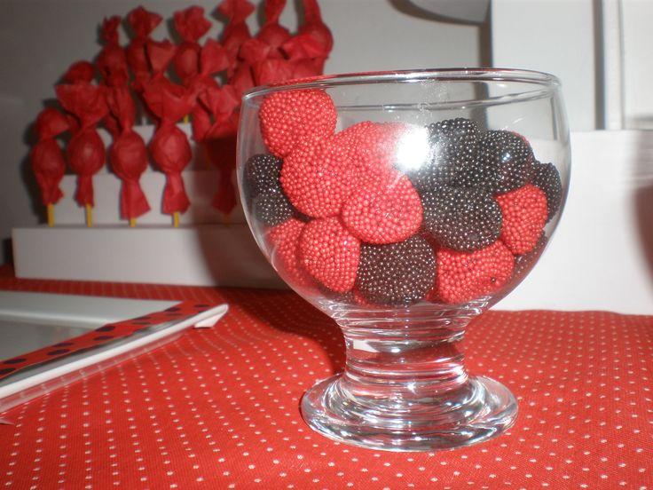 """moras y frambuesas de gomita  """"al tono""""  Cumpeaños Minnie Mouse by Dulcinea de la fuente www.facebook.com/dulcinea.delafuente.5  https://www.facebook.com/media/set/?set=a.117305701748719.33441.100004078680330&type=1&l=b380a10ba8  #fiesta #golosinas  #cumpleaños #mesadulce #festejo #fuentedechocolate #agasajo#mesa dulce #candybar #sweet table  #tamatización #souvenir #minnie"""