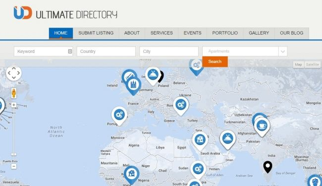 25 Best Classifieds Directory WordPress Themes
