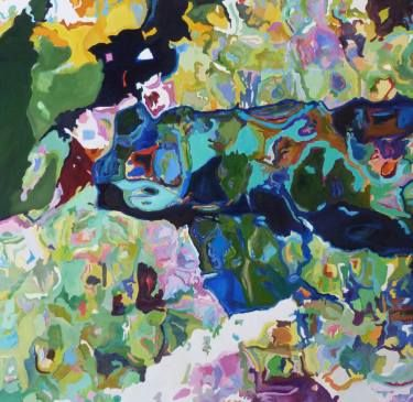 """Saatchi Art Artist Jennifer Gabbay; Painting, """"There is much beauty here SOLD"""" #art"""