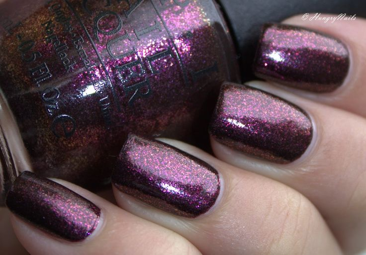 HungryNails: Swatches | OPI Drive Me Wild